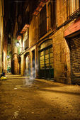 Barcelona mystic night — Stock Photo