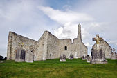 Monastery of Clonmacnoise, Ireland — Stock Photo