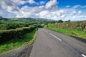Endless irish road — Stock Photo