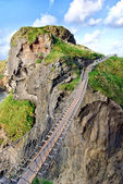 Carrick-a-Rede — Stock Photo