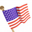 Flag of the USA (United States of America) — Stock Photo