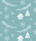 Christmas and holiday season pattern — Stock Photo