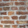 Brick wall detail texture — Stock Photo