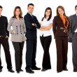 Royalty-Free Stock Photo: Business team standing