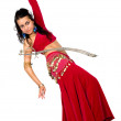 Arabic dancer with a sword — Photo