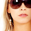 Fashion woman with sunglasses — Stock Photo #7568413