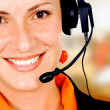 Royalty-Free Stock Photo: Customer service girl