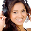 Royalty-Free Stock Photo: Love the music