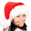 Female santa portrait — Stock Photo #7568483