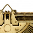 Aged typewriter - Stock Photo
