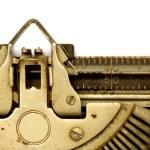 macchina da scrivere invecchiato — Foto Stock
