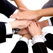 Foto Stock: Business Team Work