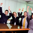 Stock Photo: Business success - team at the office