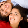 Stock Photo: Couple of young lovers