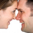 Stock Photo: Couple in happy moment