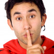 Royalty-Free Stock Photo: Keep it secret!