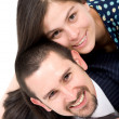 Couple of young lovers — Stock Photo #7568770