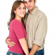 Happy couple portrait — Stock Photo #7568771