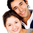 Stock Photo: Couple of young portrait