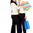 Royalty-Free Stock Photo: Couple doing shopping