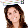 Royalty-Free Stock Photo: College student