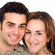 Couple of young portrait — Stock Photo #7568885