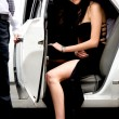 Royalty-Free Stock Photo: Celebrity coming out of a limousine