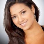 Fashion hispanic girl portrait — Stock Photo