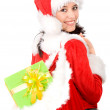 Beautiful christmas girl — Stock Photo #7569003