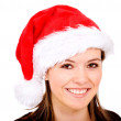 Female santa portrait — Stock Photo #7569004