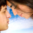Couple of young lovers — Stock Photo #7569024