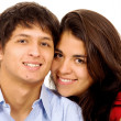 Couple of young lovers — Stock Photo #7569026