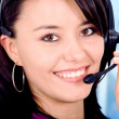 Customer service girl — Stock Photo #7569043