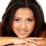 Beauty portrait of a hispanic girl — Stock Photo #7569060