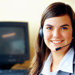 Royalty-Free Stock Photo: Customer service representative