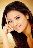 Fashion hispanic woman portrait — Stock Photo