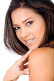 Beauty fashion female portrait — Stock Photo