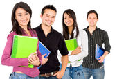 College students — Foto Stock