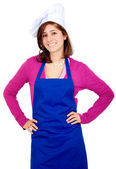 Female chef portrait — Stock Photo