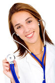 Female friendly doctor — Stock Photo