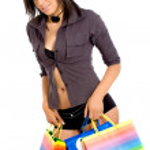 Underwear shopping — Stock Photo #7598333