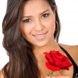 Beautiful girl in love — Stock Photo #7598400