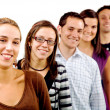 Casual group of friends — Stock Photo #7598459