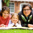 Happy family at home — Stock Photo #7598480