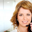 Business customer service girl — Stock Photo #7598494