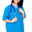 Female friendly doctor — Stock Photo #7598543