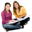 Beautiful female students — Stock Photo #7598587
