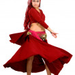 Beautiful arabic belly dancer — Stock Photo #7598635