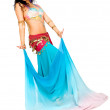 Beautiful arabic belly dancer — Stock Photo #7598637