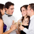 Royalty-Free Stock Photo: Friends having a drink